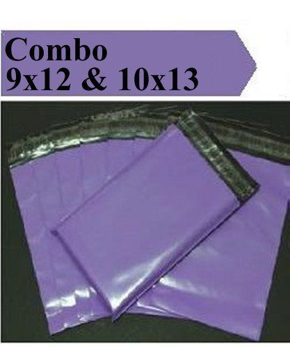 2.5 Mil 2-1000 9x12 10x13 ( Purple ) Color Poly Mailers Boutique Fast Shipping