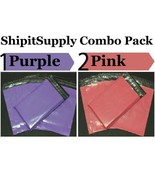 2.5 Mil 2-1000 10x13 ( Purple & Pink ) Color Combo Poly Mailers Boutique... - $1.48+
