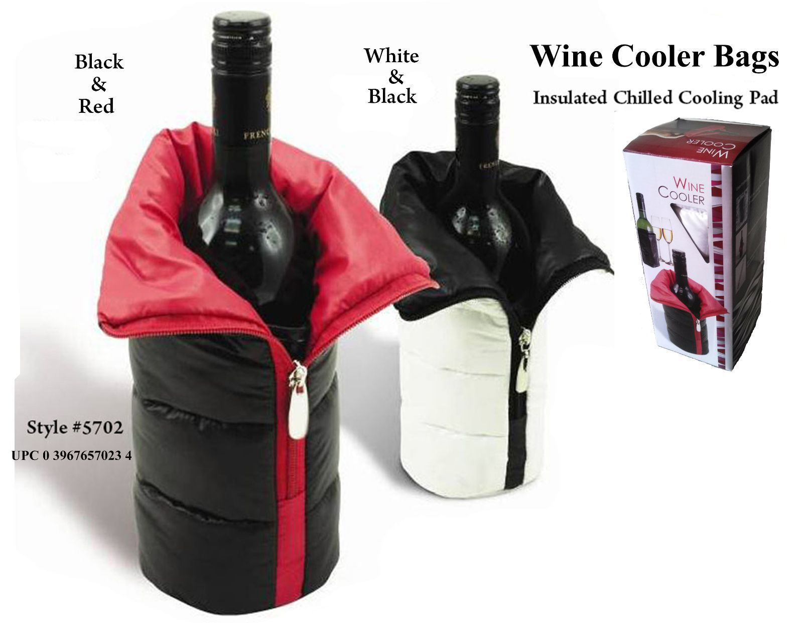 Wine Bag With Cooler Pad - Practical and Easy To Use