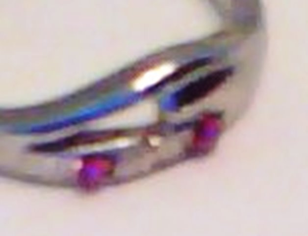 PINK SAPPHIRE TWO-STONE RING - SIZE 8.5