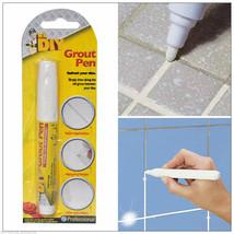 WHITE GROUT PEN REVIVER STICK KITCHEN SHOWER TILE BATHROOM CLEAN TILES A... - $3.25