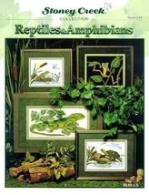 Reptiles and Amphibians - Cross Stitch Pattern - $23.34