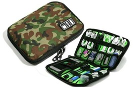 New Electronic Accessories Travel Bag Nylon Mens Travel Organizer Camouf... - £15.39 GBP