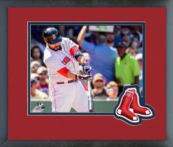 Sandy Leon 2016 Boston Red Sox - 11 x 14 Team Logo Matted/Framed Photo - $42.95
