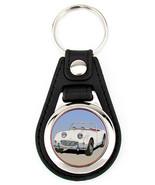 Austin Healey Frogeye Sprite Key Fob in white - $7.50