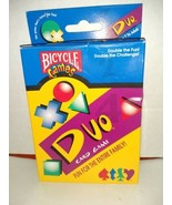 Bicycle Games DUO Card Game NEW (sealed cards inside) 1999 RARE (U) - $24.74