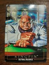 x1 1992 SkyBox Marvel Masterpieces Kingpin #43 Card  - $2.99