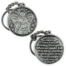Guardian Angel Protect Me Keychain  Keyting Key... - $7.87