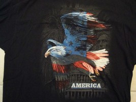 America 4th Of July Celebration Bald Eagle T Shirt Size 2XL - $17.32