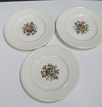 """Set of 3 Wedgwood Conway floral Bread Plates 6.25""""  - $14.85"""
