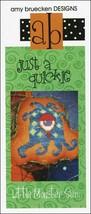 Just A Quickie: A Little Monster Sam cross stitch chart Amy Bruecken Designs - $3.60