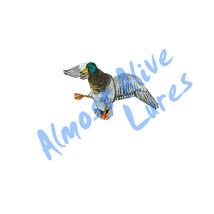 Mallard Flying Duck Decoy Hunting Decal Sticker... - $5.99 - $8.99