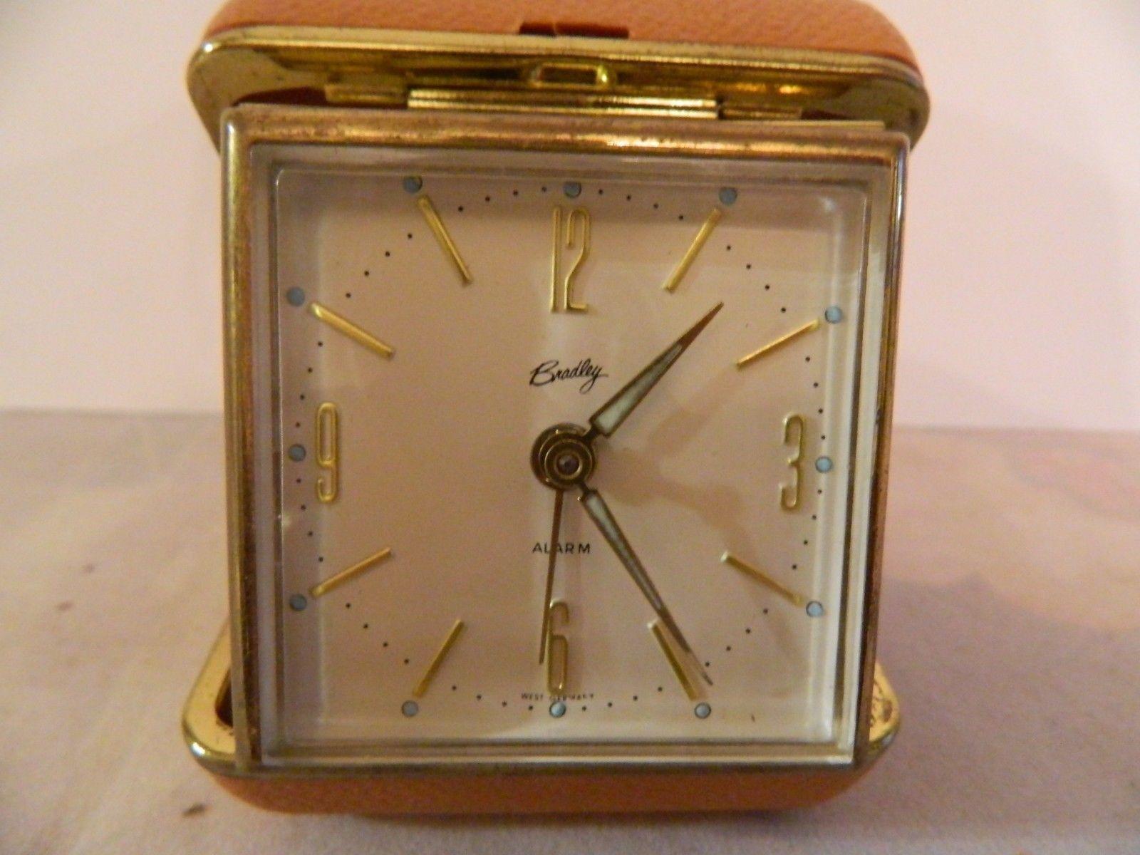 Vintage Bradley Wind Up Travel Alarm Clock And 20 Similar Items