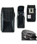 Genuine Leather Police Basket Weave Case for Kyocera DuraMax. - $44.99