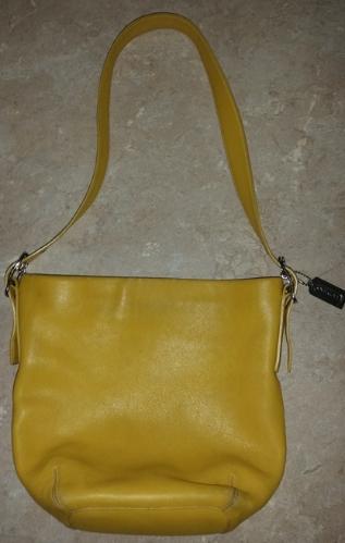 Img 3308331225 1472140876 Mustard Yellow Coach Leather Purse