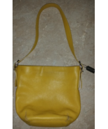 Mustard Yellow Coach Leather Purse G1S-9186 Sof... - $69.99