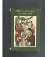 Hardcover/Sleeve Christmas Stories by Charles Dickens Book,1955 Famous C... - $9.00
