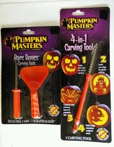 Lot of 2 Pumpkin Masters 4 In 1 carving tool an... - $5.93