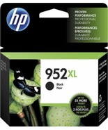 HP 952XL BLACK HIGH CAPACITY GENUINE INK CARTRIDGE - 2020 - $34.99
