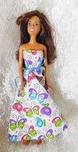 "Mattel 1999 Barbie - 11 1/2"" doll #0479 - Handmade Dress - $9.49"