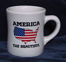 America the Beautiful--2012 Waffle House Coffee Mug - £9.76 GBP