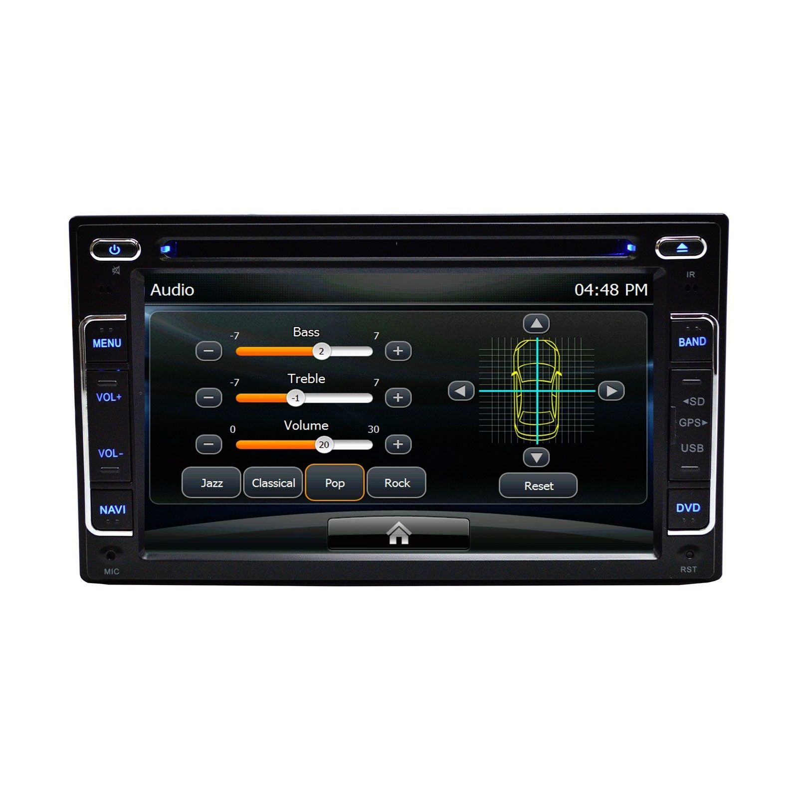 HYUNDAI GENESIS 2DR 2013 IN DASH RADIO GPS BLUETOOTH CD/DVD PLUG AND PLAY OE FIT