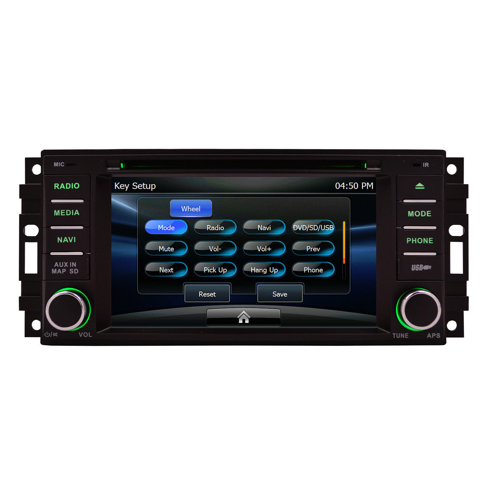 gps navigation stereo radio w bluetooth usb dvd for 2009 2011 jeep wrangler gps systems. Black Bedroom Furniture Sets. Home Design Ideas