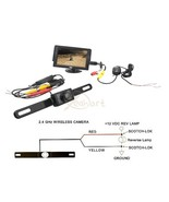"Newest Wire or Wireless Waterproof CMOS Rear View Camera + 4.3"" LCD Car ... - $39.59+"