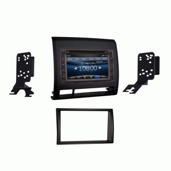 BLACK FM AM DVD NON-JBL IN-DASH GPS NAVIGATION NON ANDROID Black BLUETOOTH DVD