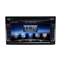 BLACK FM AM DVD NON-JBL IN-DASH GPS NAVIGATION NON ANDROID Black BLUETOOTH DVD image 2