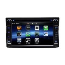 BLACK FM AM DVD NON-JBL IN-DASH GPS NAVIGATION NON ANDROID Black BLUETOOTH DVD image 3