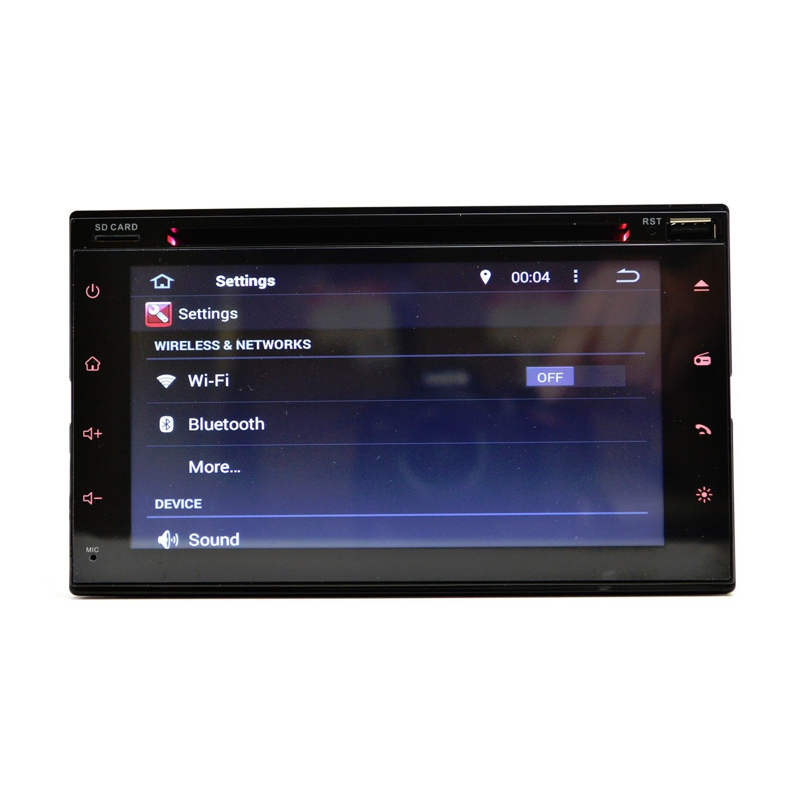 Non JBL Compatible Dash Kit K-Series Universal Android Navigation Multimedia