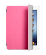 Pink Polyurethane Smart Cover Case W/ Sleep Wake Function For Apple iPad... - $6.43