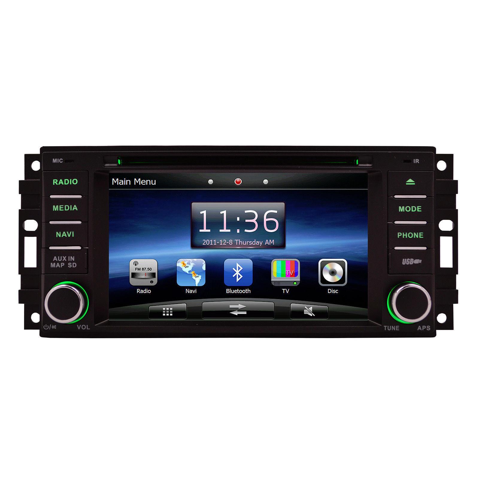 OTTONAVI Chrysler Sebring 2007-2011 K-Series Navigation Radio image 4