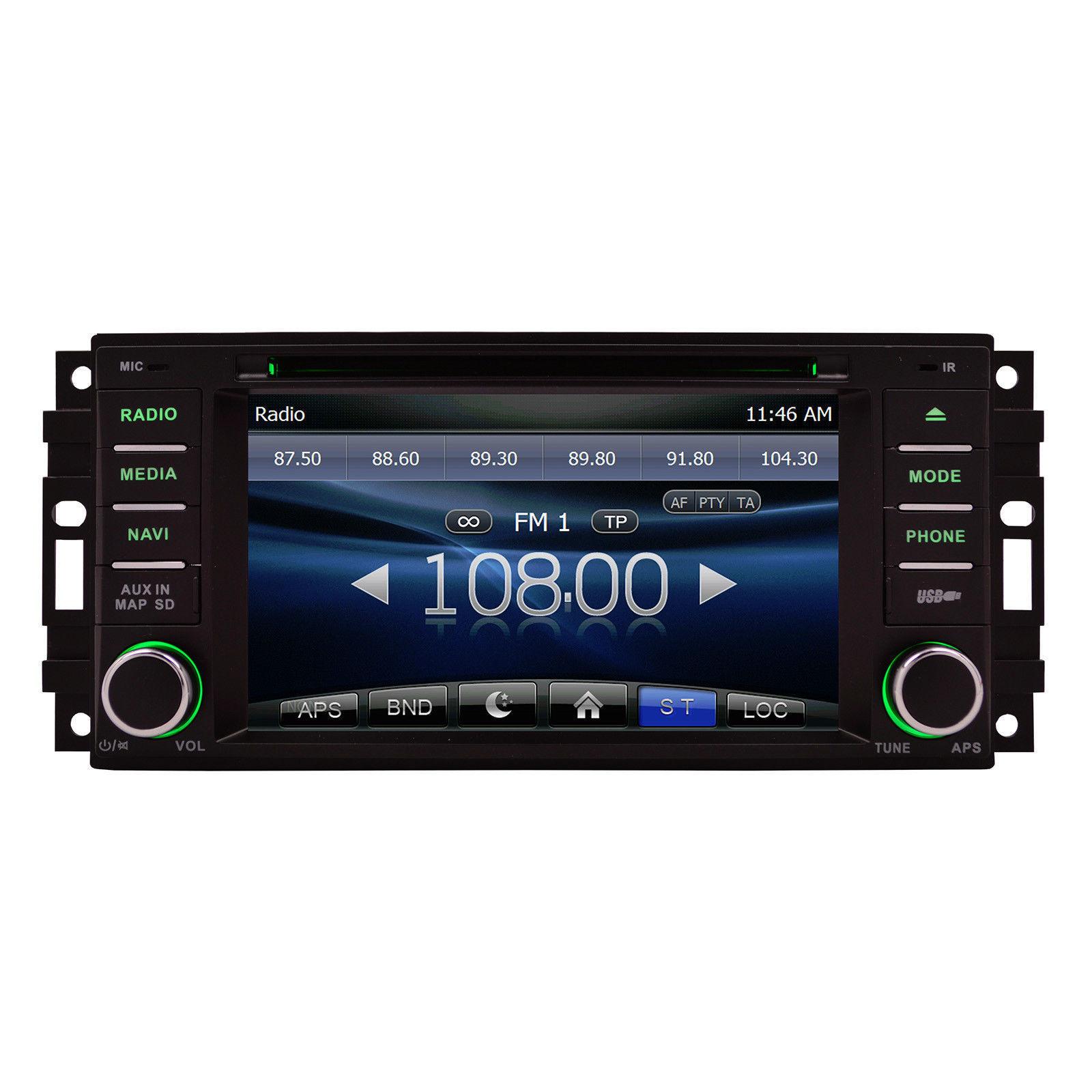 OTTONAVI Chrysler Sebring 2007-2011 K-Series Navigation Radio image 10