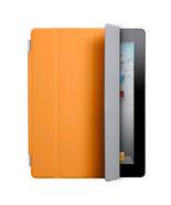 Orange Polyurethane Front Smart Cover With Sleep Wake For Apple iPad 2 3 4 - $6.43