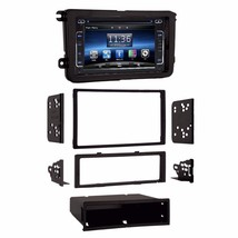In Dash 2 Din LCD Touch Screen Bluetooth GPS Navigation Radio for VW Jet... - $544.49