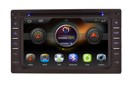IN DASH DOUBLE DIN MULTIMEDIA NAVIGATION RADIO SYSTEM WITH BLUETOOTH GPS CD DVD image 9