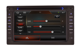 IN DASH DOUBLE DIN MULTIMEDIA NAVIGATION RADIO SYSTEM WITH BLUETOOTH GPS CD DVD image 10