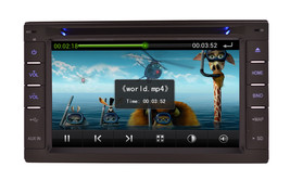 IN DASH DOUBLE DIN MULTIMEDIA NAVIGATION RADIO SYSTEM WITH BLUETOOTH GPS CD DVD image 4