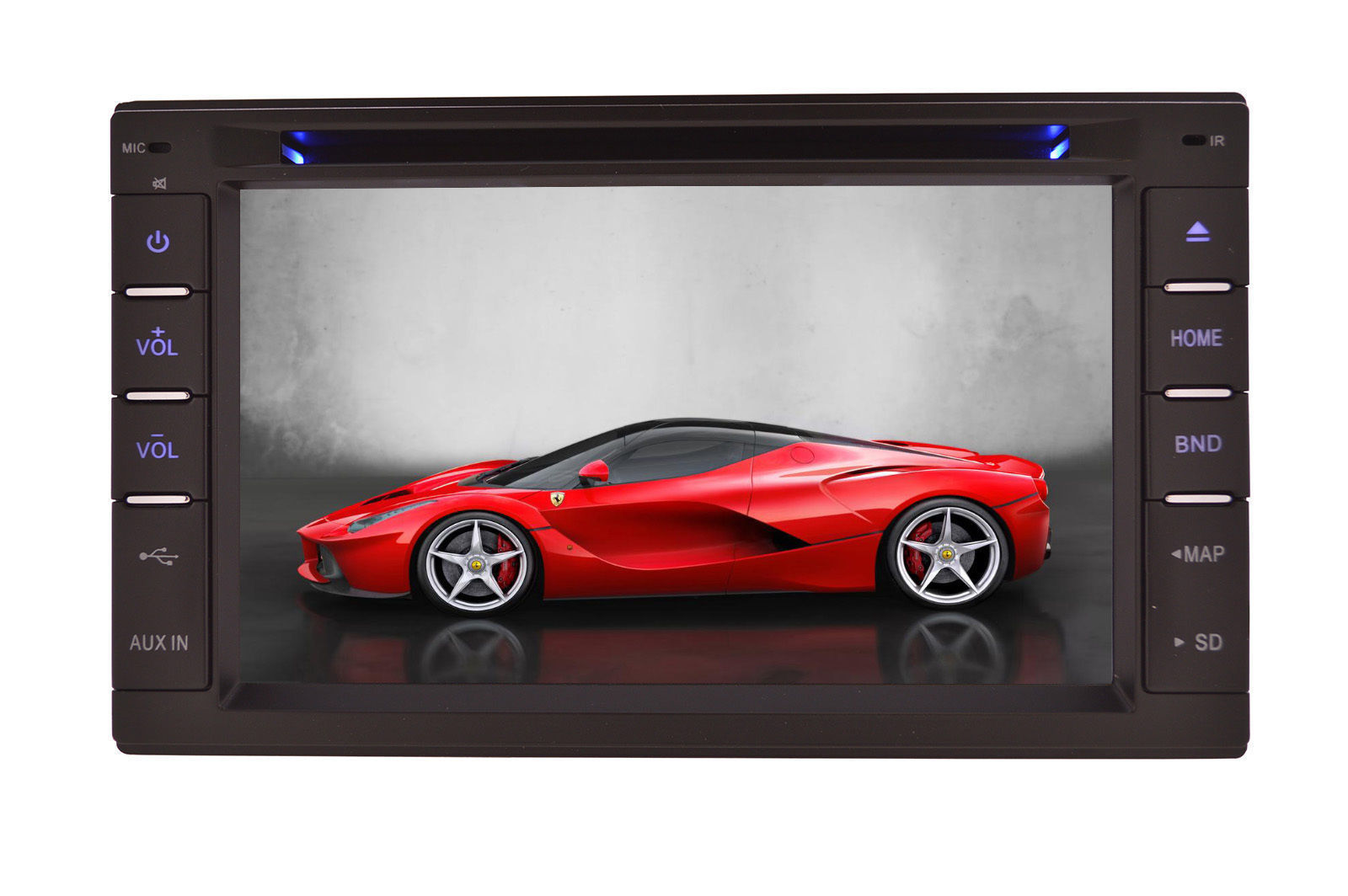 IN DASH DOUBLE DIN MULTIMEDIA NAVIGATION RADIO SYSTEM WITH BLUETOOTH GPS CD DVD image 11
