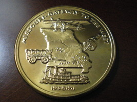 """Missouri Sesquicentennial Bronze Medal 1.5"""" - $19.95"""