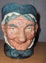 Vintage  Royal Doulton Figurine Toby Mug Grammy England MINT - $65.00