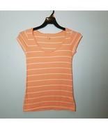 Gap Tshirt Womens Top Peach Cup Sleeves Size XS - $7.99