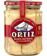 Ortiz White Tuna in Olive Oil Bonito Del Norte Net Wt 7.56 Oz (220 g) - $28.95