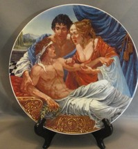 Collector Plate 1982 The Knights Tale G A Hoover Canterbury Tales Collection - $6.99