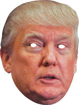 Donald Trump Paper Halloween Party MAGA Mask - £14.09 GBP
