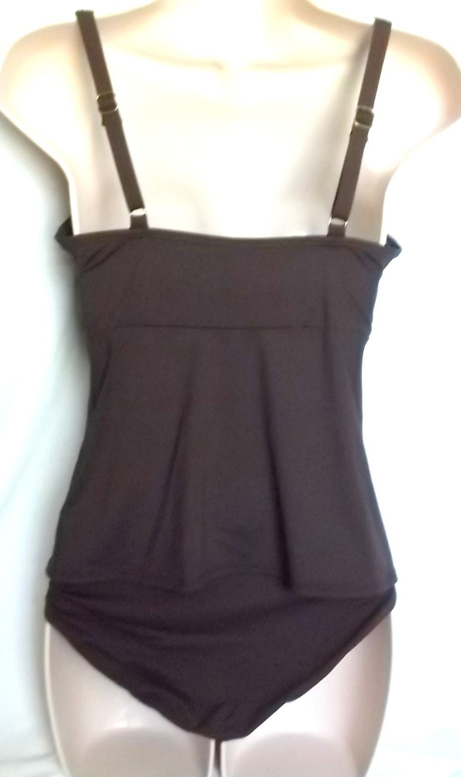 COCO REEF COFFE BEAN TANKINI SET,SIZE SMALL/32C