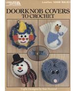 Doorknob Covers, Leisure Arts Crochet Pattern Booklet 1098 Snowman Duck ... - $4.95