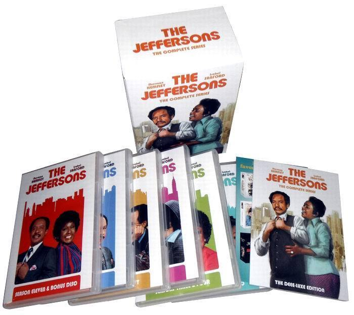 The Jeffersons: The Complete Series 33 DVD Boxset free shipping